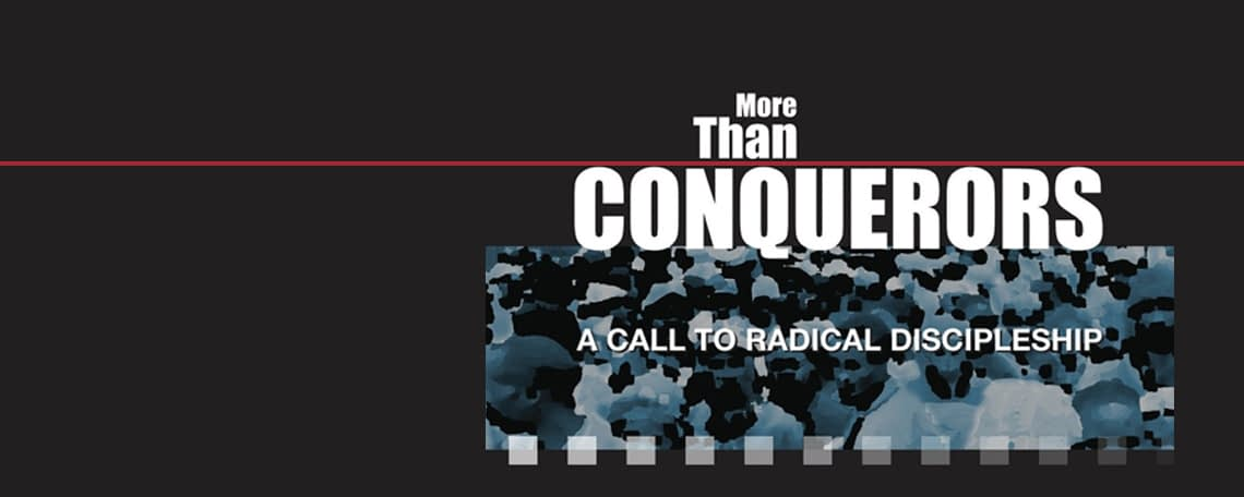 more than conquerors by Simon Guillebaud book and DVD